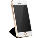 apple, gold, iphone icon