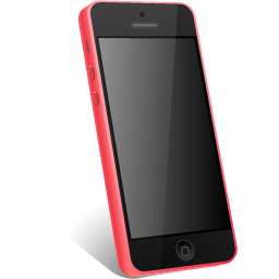 iphone, pink icon