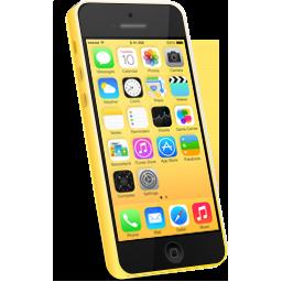 iphone, yellow icon