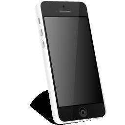 iphone, white icon