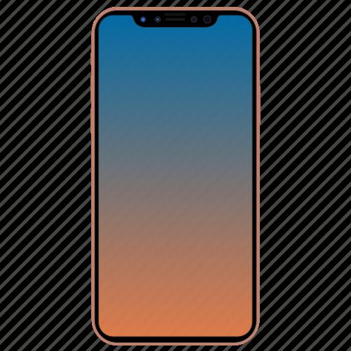 Apple Iphone 8 Pro X Smartphone Icon