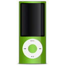 apple, green, ipod icon