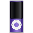 apple, ipod, purple icon