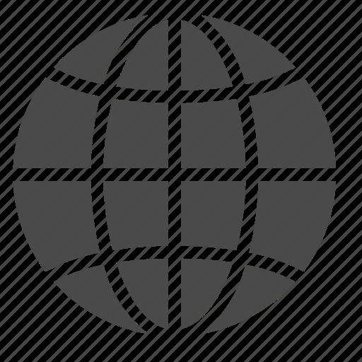 browser, earth, global, globe, network, web icon