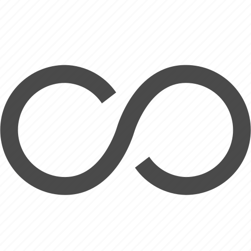 continium, cycle, infinity, loop, time icon