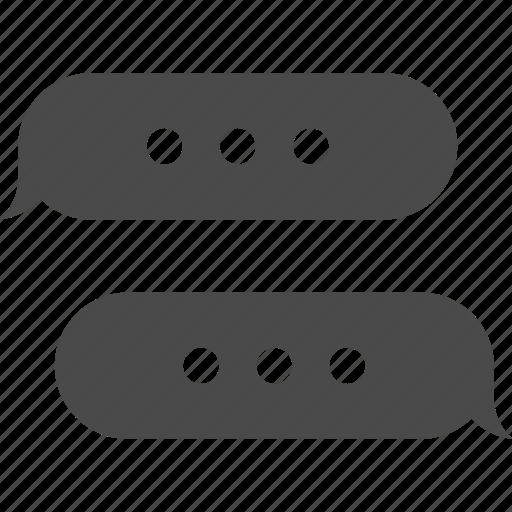 bubble, chat, comment, conversation, dialog, message, talk icon