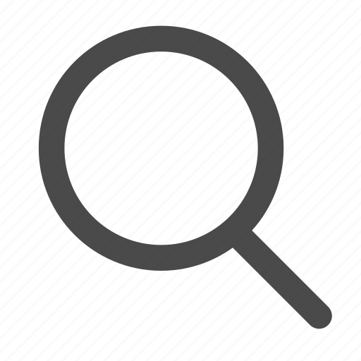 glass, magnifying, search, tool icon
