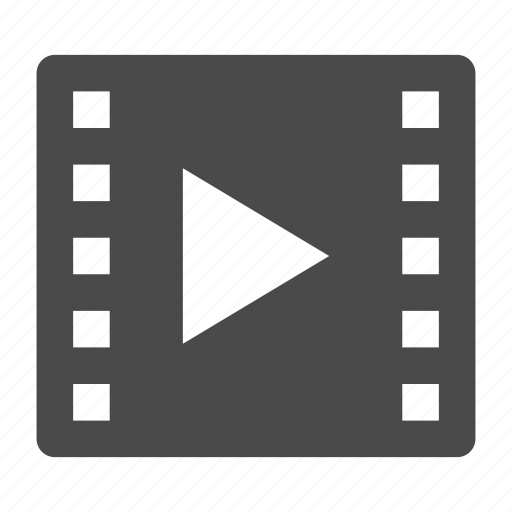 clip, entertainent, media, movie, play, video icon