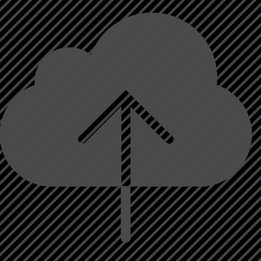 cloud, data, upload icon