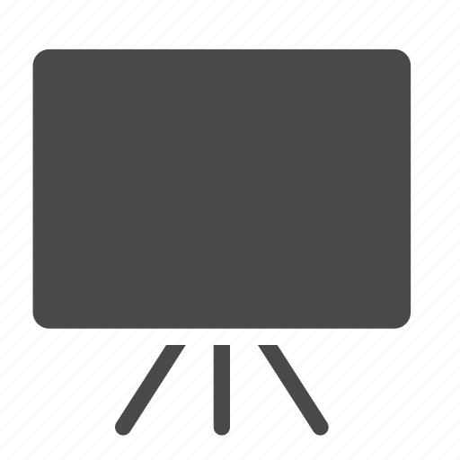 board, deck, presentation, promo icon