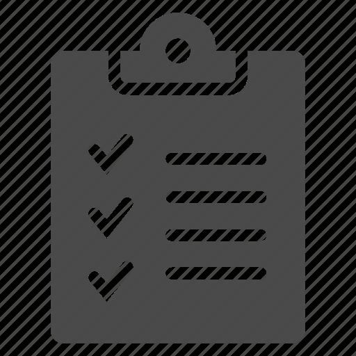 clipboard, copy, list, todo icon