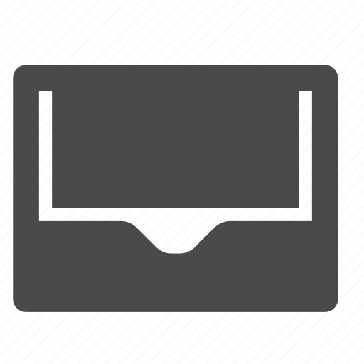 empty, inbox, wallet icon