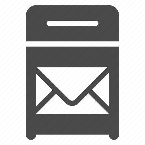 box, mail, post icon
