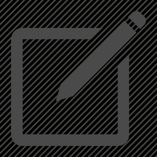 edit, new, post, write icon