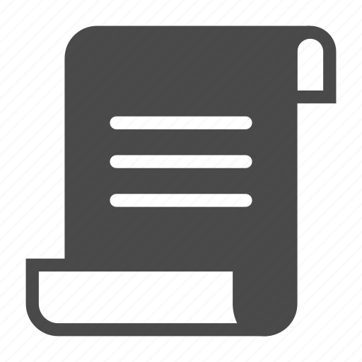 journal, log, script icon