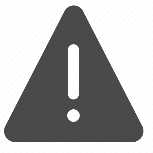 attention, exclamation, sign, triangle, warning icon