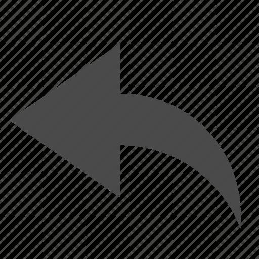 arrow, cancel, undo icon
