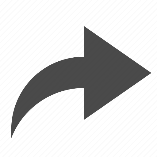 arrow, redo, return icon