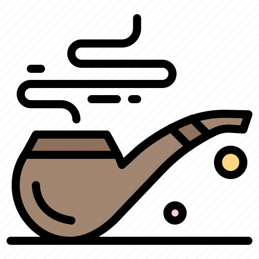 patrick, pipe, smoke, st, tube icon