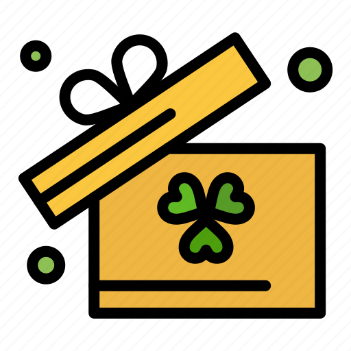 box, gift, ireland icon