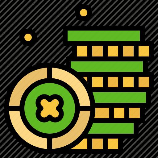 coin, ireland, money icon