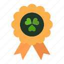 award, ireland, madel icon