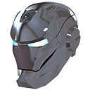 devil, evil, helmet, iron, ironman, male, man, mask, silver icon