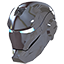 devil, evil, helmet, iron, ironman, male, man, mask, silver icon