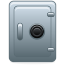 accounting, safety box icon