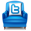 chair, furniture, twitter icon