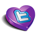 bookmark, favorite, heart, love, twitter, valentine's day icon