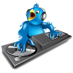 discjockey, dj, music, twitter icon