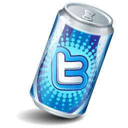 Soda can, twitter icon | Icon search engine