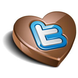 chokolate, twitter icon