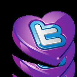 bookmark, favorite, heart, love, twitter, valentine's day icon