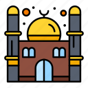 mosque, prayer, ramadan icon