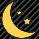 crescent, moon, islam, muslim, ramadan