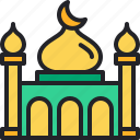 mosque, islam, building, landmark, monuments
