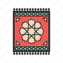 mat, muslim, mosque, rug, prayer, islam, carpet