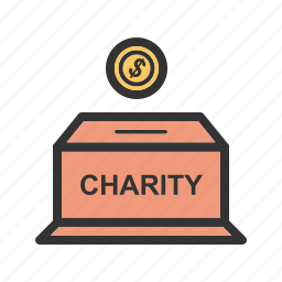 box, charity, donation, finance, islamic, money, mosque icon