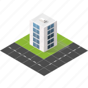buildings, city, isometric, real estate, skyscraper, urban icon