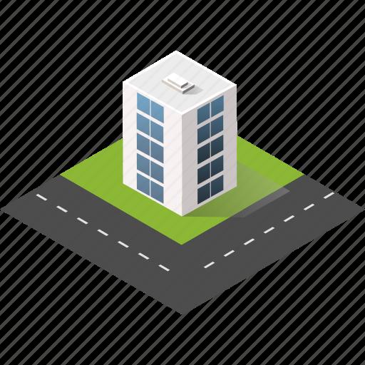 buildings, city, isometric, real estate, skyscraper, urban icon
