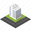 buildings, city, isometric, real estate, urban