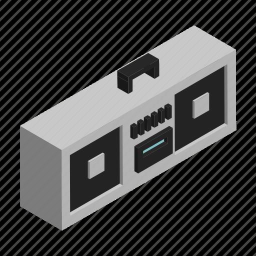 boombox, electronics, listen, music, player, radio, speaker icon