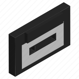 cassette, electronics, music, player, tape icon