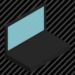 computer, electronics, laptop, personal, portable, screen icon