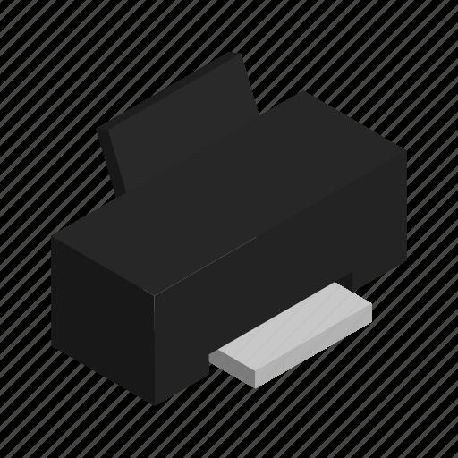 electronics, ink, paper, print, printer icon