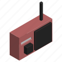 antenna, electronics, fm, music, radio, transmition icon