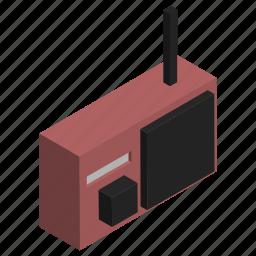 antenna, electronics, fm, music, radio, transmition icon