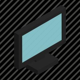 display, electronics, flatscrenn, monitor, screen icon
